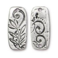 TierraCast Jardin Bar Link, Antiqued Pewter 94-3197-40 - each