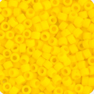 Miyuki Delica Seed Bead size 11/0 Yellow Canary Opaque Matte 250g Bag DB1582B