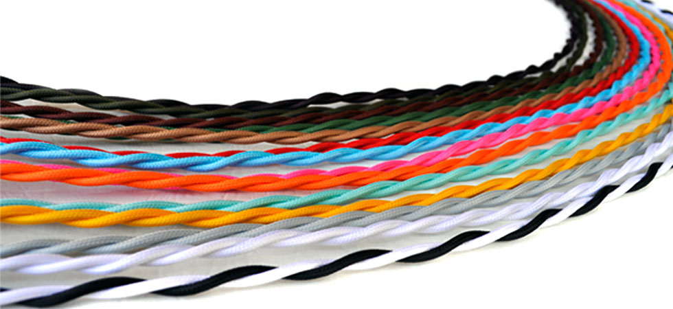 cloth covered electrical wire from fabric wire rh fabricwire com cloth covered wiring in homes cloth covered wiring harness