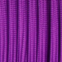 Violet - Flat Cloth Covered Wire (250 Ft / Roll)