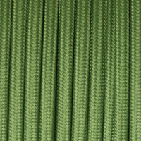 Forest Green - Flat Cloth Covered Wire (250 Ft / Roll)