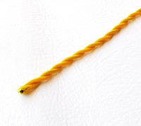 Gold - Twisted Cloth Covered Wire (Per Foot)
