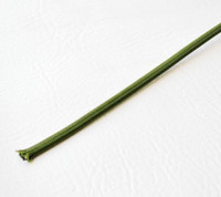 Forest Green - Flat Cloth Covered Wire (Per Foot)
