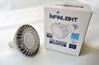 LED PAR38, 3K, 17W, 120V, 12 PACKS