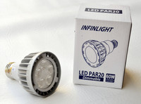 LED PAR20, 4K, 10W, 120V, 10 PACKS