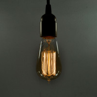 Antique Style Thread Filament Light Bulb - Edison Style 60 Watt