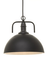 Industrial Metal Dome Pendant