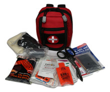 ULTIMATE POCKET GRAB N GO™ FIRST AID KIT produced by Amy Alton a Nurse Practitioner and Joe Alton a Medical Doctor