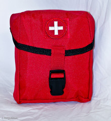 Empty EMT style Pouch, made by VooDoo Tactical