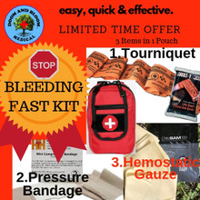 Stop Bleeding Kit Mini, Easy, Quick and Effective