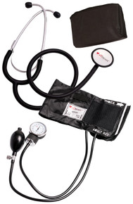 Blood Pressure Cuff and Stethoscope Set