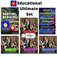 Educational Ultimate Set: Our 2 books and all 4 DVD presentations on a USB