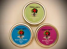 Nurse Amy's Set of 3 Herbal Salves
