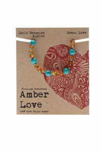 Amber Ocean Love 14cm by AMBER LOVE