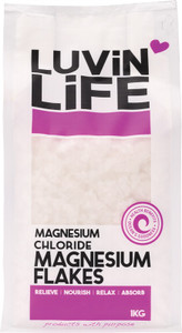 Magnesium Flakes 1kg by Luvin Life