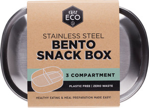 S/Steel Snack Box 1 by Ever Eco