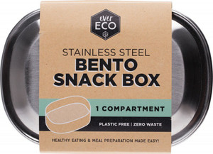 S/Steel Snack Box 1 Compartment 1 by Ever Eco