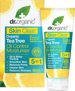 Oil Control Moisturiser Skin Clear - Organic Tea Tree 50ml | DR ORGANIC