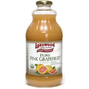 Pink Grapefruit Juice Organic 946mL Lakewood