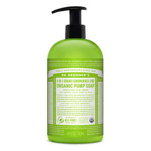 Dr. Bronner's Lemongrass Lime Organic Hand and Body Soap 710ml