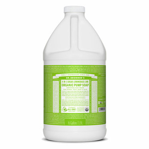 Dr. Bronner's Lemongrass Lime Hand & Body Soap – Refill 1.89lt