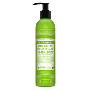 Dr. Bronner's Patchouli Lime Organic Lotion 236ml