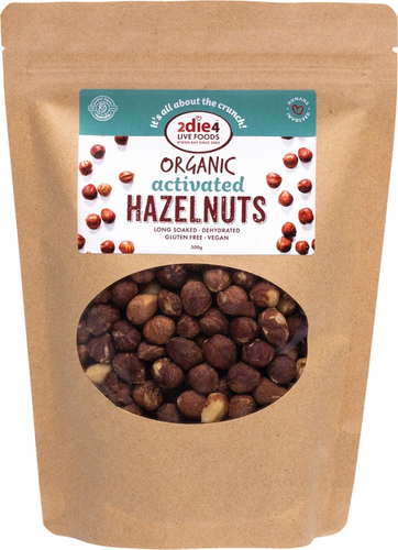 2DIE4 LIVE FOODS Activated Hazelnuts 300g