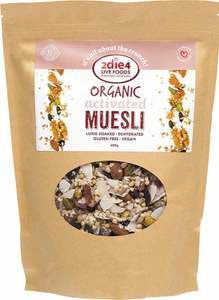 2DIE4 LIVE FOODS Activated Muesli 600g
