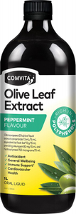 COMVITA - OLIVE LEAF EXTRACT Peppermint Olive Leaf Extract 1L