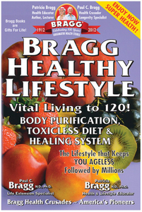 Healthy Lifestyle Book by BRAGG