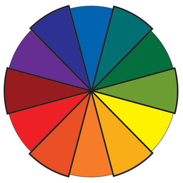 Color Wheel Tertiary Colors
