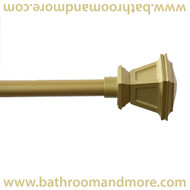 gold lamp post finials decorative curtain rod