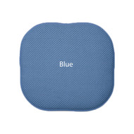 Memory Foam Chair/seat Cushion Pad : Non Slip - Blue