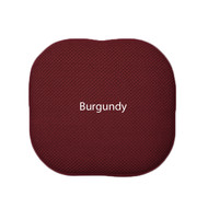 Memory Foam Chair/seat Cushion Pad : Non Slip - Burgundy