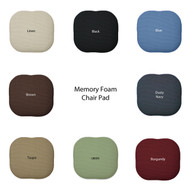 Memory Foam Chair Pad Seat Cushion : Non Slip