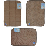 Taupe Memory Foam Bath Mat/area rug: Non-skid, Absorbent, 17 X 24 or 20 X 30