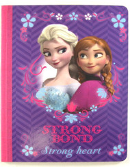 Disney's Frozen Notebook: 7.5 x 9.5in Purple – Anna and Elsa
