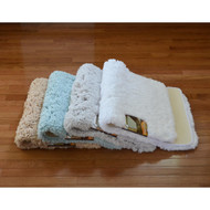 Ultra Soft High Pile Plush Bath Mat/Rug: 21in x 34in, Non-Slip