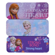 Disney Frozen Pencil Tin Case: Anna & Elsa, Strong Bond, Powerful Beauty, Radiant Heart