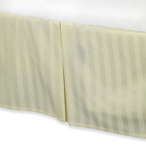 100/% Egyptian Cotton 500 Thread Count Brown Luxury Bed Skirt