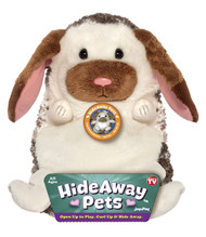 HideAway Pets Lop Eared Bunny Plush Toy Animal: 15in High, Super Plush, Adopt yours today!