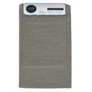 Gray 2-Pc Plush Bath Mat/Rug: Non-Slip Backing, 20in x 30, 17in x 24in