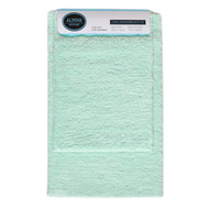 Pastel Blue Green 2-Pc Plush Bath Mat/Rug: Non-Slip Backing, 20in x 30, 17in x 24in
