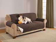 Brown Reversible Sofa Protector/Cover