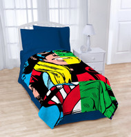 Marvel Avengers Heroes Cut Up Blanket: 62in x 90in, Super Soft and Warm