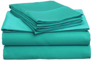 Turquoise Microfiber Sheet Sets: Bright Vivid Color