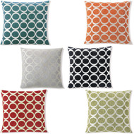 """Decorative Removable Sofa Throw Pillow Cover: 20' x 20"""", with Zipper"""