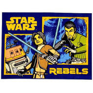 "Disney Star Wars Nylon Room Rug: 40"" x 54"", Latex Backing"