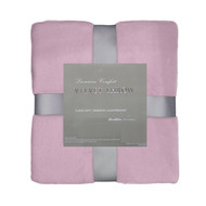 Lilac Velvet Plush Throw Blanket: Super Soft, Warm, 50in x 60in