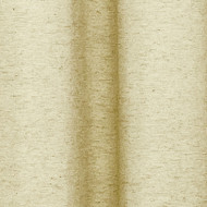 Room Darkening Window Curtain Panel Pair: Wheat Color, Silver Grommets 76IN x 84IN